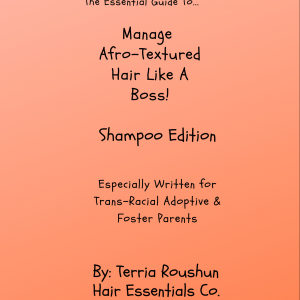 Manage Your Child's Afro-Textured Hair Like A Boss! Shampoo Edition
